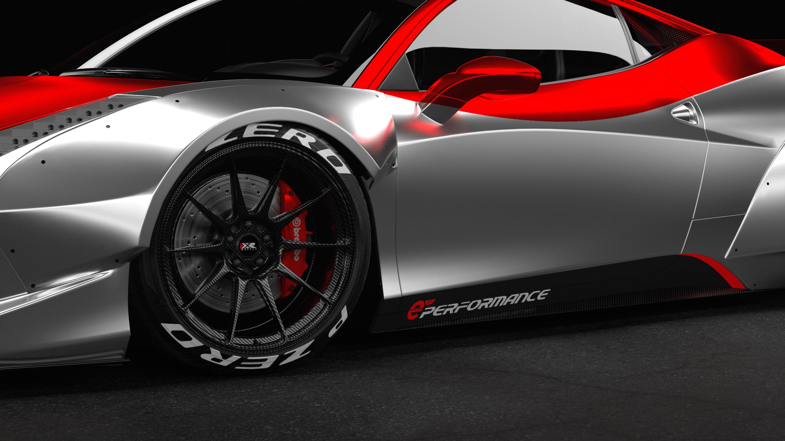 Best Liberty Walk Ferrari 458 Wrap Design By Essellegi Performance